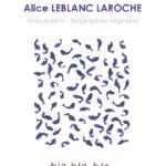 Affiche exposition Alice Leblanc Laroche