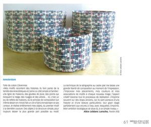 Article Métiers d'Art