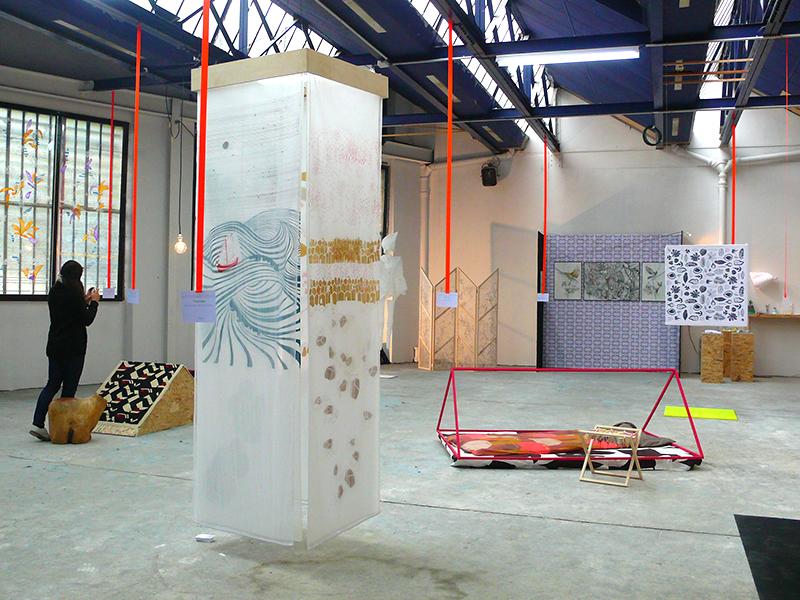 """Exposition """"Repeat me"""" du collectif 110 par minute en 2012 à Montreuil"""
