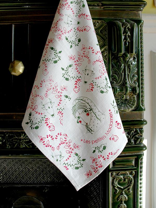 Collection Textiles imprimés Les Petites Madames