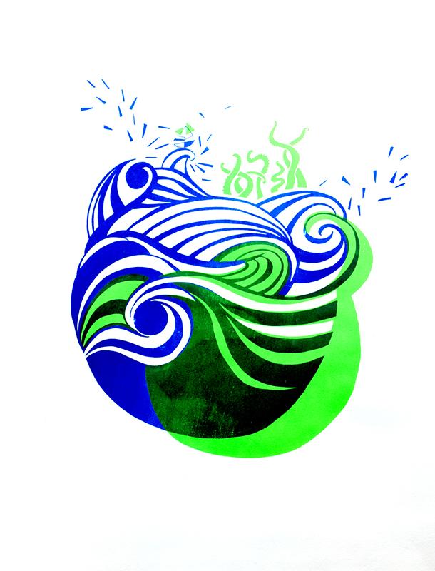 Alice LL Aqua Vert