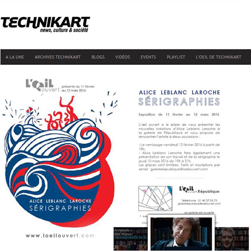 Article Technikart ALL
