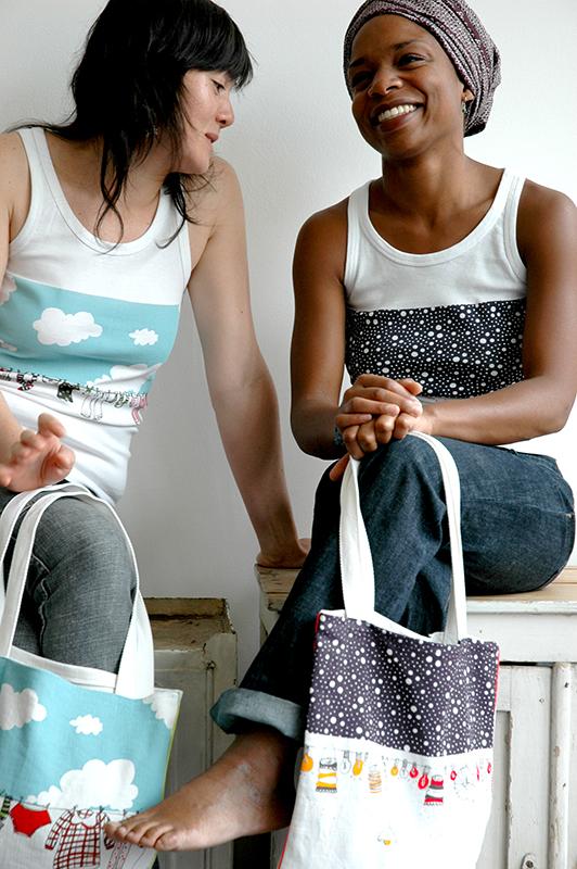 collection textile ALL les petites madames