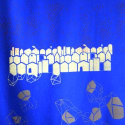 """Pièce murale """"Cristaux"""""""