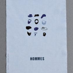 """Abécédaire mural """"Hommes"""""""