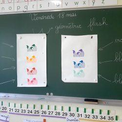 présentation de la gamme de couleurs en école élementaire